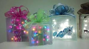 glass block craft ideas s how to make baby glass block craft ideas snowman baby lighted decorated