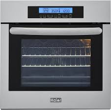Electric Wall Oven 24 Inch Haier Hcw2360aes 24 Inch Electric Wall Oven With European