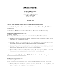 Agenda Outlines Templates Standard Agenda Format Sample Templates At