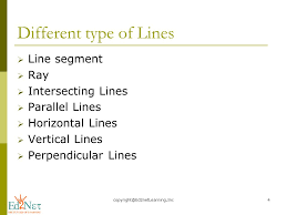 LINES AND LINE SEGMENTS - ppt video online download
