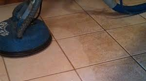 trust our professional team to thoroughly clean your tile and grout and have them dry within 30 minutes