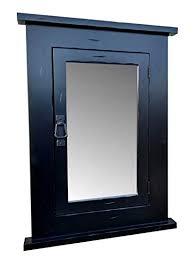 black recessed medicine cabinet. Wood Craft Cabinets Primitive BLACK Mission Recessed Medicine CabinetRusticSolid With Black Cabinet