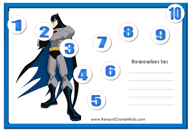 Batman Behavior Chart Pin By Bre Harris On Kiddo Ideas Sticker Chart Behaviour
