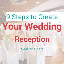 seating chart for wedding reception 9 steps to create your wedding reception seating chart