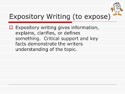writing introductions for types of expository writing ppt persuasive essay writing an expository essay body each supporting paragraph must have a distinct clear controlling types powerpoint presentations
