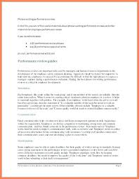 9 10 Completed Performance Review Examples Archiefsuriname Com