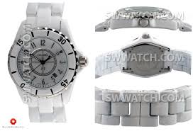 J12 Watch Ceramica White Replica Chanel 38mm