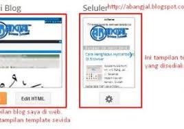 Blogger Mobile Template Edit Blogger Mobile Template How To Change Your Blogger Template