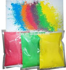 color run powder diy colour safety