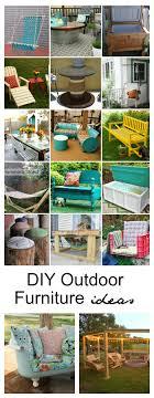 Diy Outdoor Furniture Diy Outdoor Furniture Ideas The Idea Room