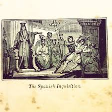 best the spanish inquisition images spanish  spanish inquisition engraving