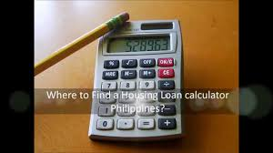 calculator house loan where to find a housing loan calculator philippines youtube