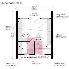 tiny houses floor plans. A-Frame Tiny House Plans Alexis Houses Floor