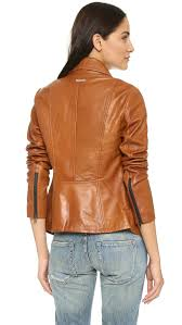 gallery previously sold at bop women s camel leather jackets