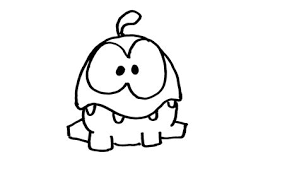 Cut The Rope Num Num Free Coloring Pages