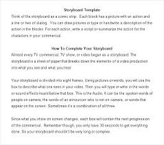 Script Storyboard Extraordinary Film Script Format Template Com Script Best Of 48 Storyboard