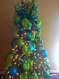 Christmas Tree #blue #green #glitter
