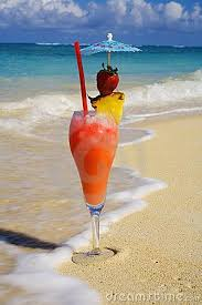 - Photo Beach On Hawaiian Image Drinks Stock Cocktails Drinks Drink Royalty Free Tropical A