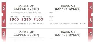 Free Meal Ticket Template Delectable Printable Raffle Ticket Templates Draw Design Baycabling