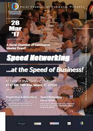 Speed Networking Doral Chamber Of Commerce Flyer Large 900h The