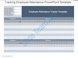 Attendance Tracking Template Best Tracking Employee Attendance Powerpoint Template PowerPoint