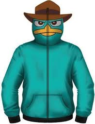 Details About Adult Phineas And Ferb Perry The Platypus