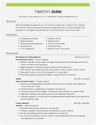 Basic Resume Template New 50 Pretty Resume Templates Free Free