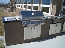 Cinder Block Outdoor Kitchen Outdoor Kitchens And Barbecue Islands In Fort Collins