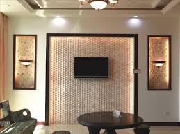Wall Tv Decoration Appealing Bamboo Wall Of Tv Room Backsplash With Agreeable Tv Wall