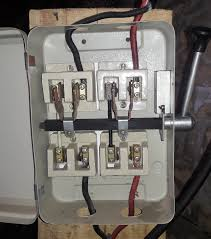 portable generator changeover switch wiring diagram electrical generator changeover switch