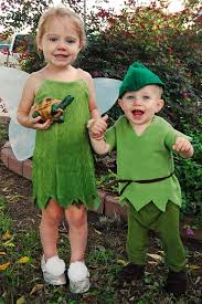 diy tinkerbell and peter pan costumes from the nestin