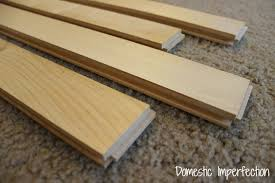 hardwood maple wood flooring to make the countertop