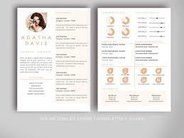 Unique Resumes Templates Free Design Resume Template Sara Creative Templates For Resumes Free 62