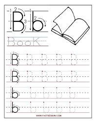 excelent letter tracing worksheets free