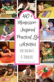 40+ Montessori-Inspired Practical Life Activities for Infants and ...