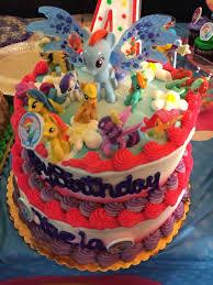 Cake By Safeway Kaelas My Littlepony Birthday Party Birthday
