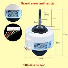 Uygun Chigo klima iç ünite fan motoru fan motoru YDK 26 4 D6 26W Motor  Driver