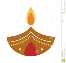 Indian Festival Decoration Indian Festival Diwali Oil Lamp Decoration Stock Photo Image