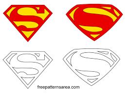 Vectors Silhouettes Superman Symbol Outline Superman Symbol Logo Vectors Silhouettes