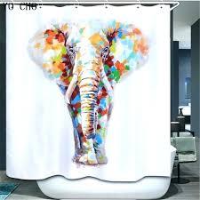 kids bathroom curtains target kids shower curtain elephant shower curtains yo animal cartoon elephant shower curtain kids bathroom curtains