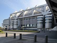 High tech modern architecture buildings Irregular Shaped The Internationales Congress Centrum Berlin Opened In 1979 Structure Of Hightech Architecture Acclaim Images Hightech Architecture Wikipedia