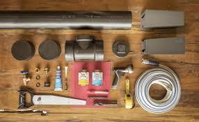 materials to make a diy camp shower