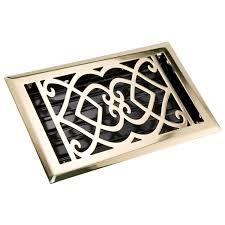 Decorative Grates Registers Victorian Steel Floor Register Hardware