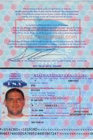 Us Passport Template Psd Template United States Usa Passport Psd Www Idpsd Net In