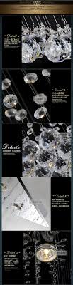 Modern Crystal Chandeliers For Dining Room Wave Design Modern Crystal Chandelier Dining Room Crystal Lamp Rectangle Home Lighting Fixtures Guaranteed 100jpg