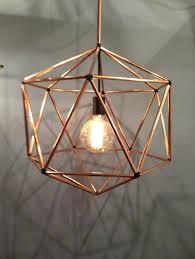 Hammered Copper Pendant Light Glass Block Shower Designs Kitchen ...