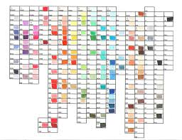 copic ciao color chart copic color chart by mana kyusai on deviantart