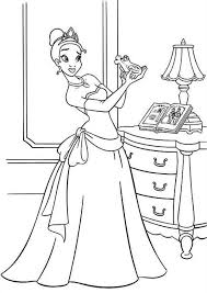 Small Picture Princess And The Frog Coloring Pages Coloring Coloring Pages