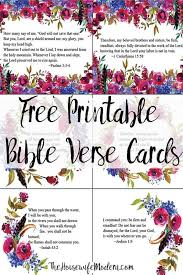 Download the pdf file with these free printable bible verse cards to help you family start to memorize god's word together. Free Printable Bible Verse Cards For When You Need Encouragement