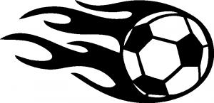 Samolepka Fotbalový Míč 003 Levá S Obličejem Autosamolepkycz